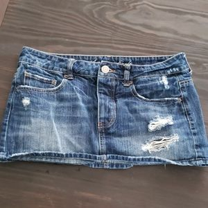 American Eagle Mini Jean Skirt